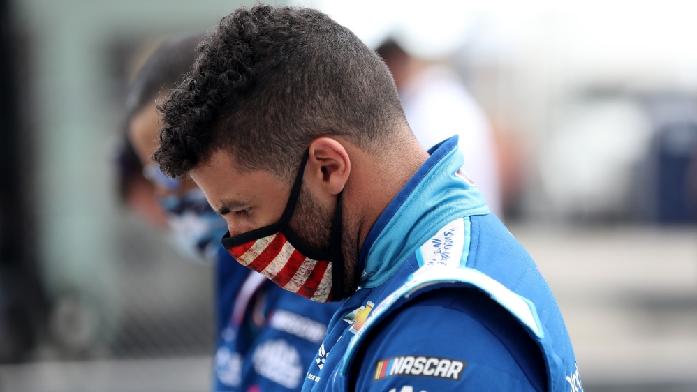 NASCAR investigates noose found in Bubba Wallace's garage stall thumbnail