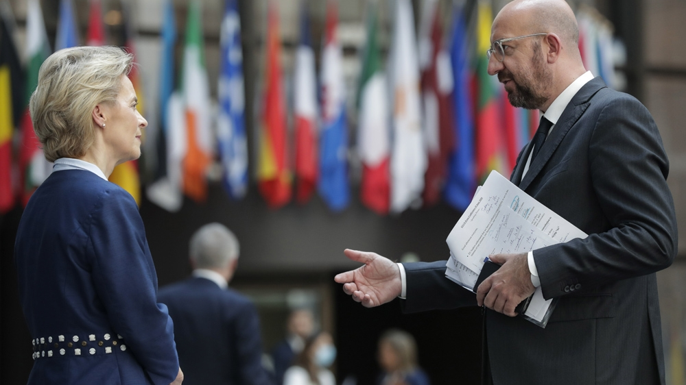 EU, China summit to cool tensions over coronavirus, Hong Kong thumbnail