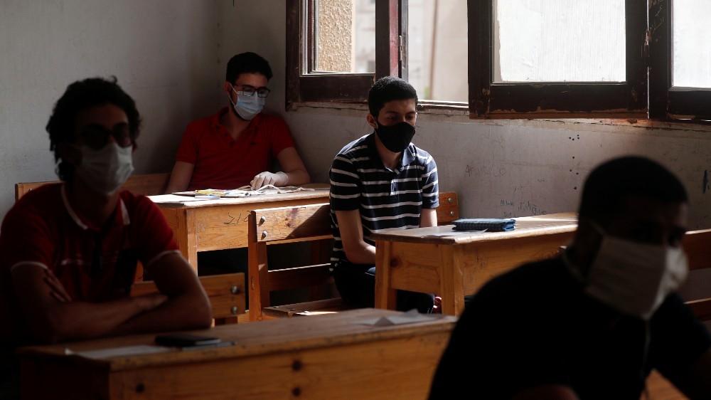 High school exams in Egypt