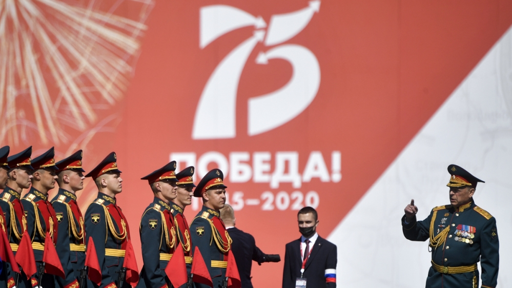 In Pictures: Russia shows off military might at grand WWII parade thumbnail
