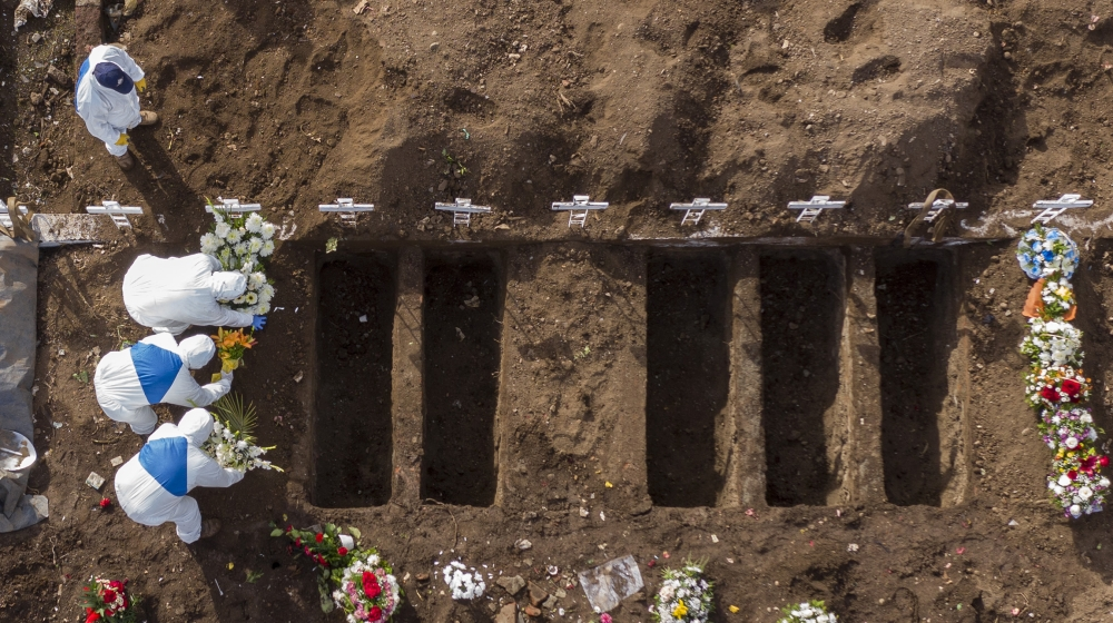 Latin America and Caribbean pass 100,000 COVID-19 deaths thumbnail