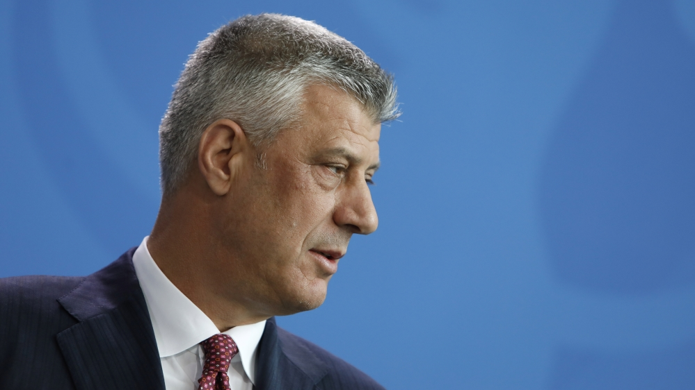 Kosovo's President Thaci, nine others indicted for war crimes thumbnail