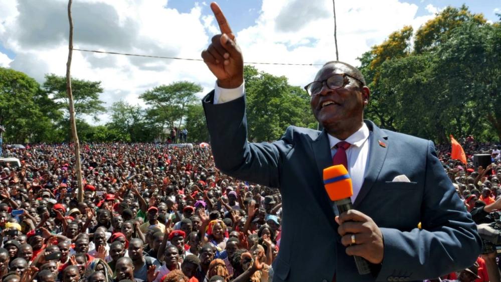 Malawi presidential election: Lazarus Chakwera declared winner thumbnail