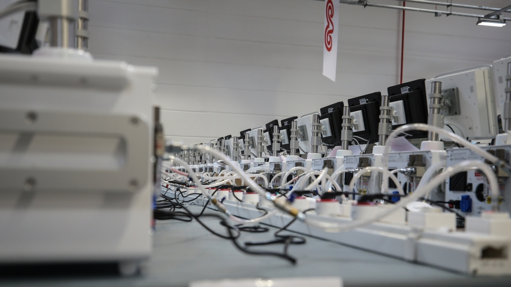 Mass production of ventilators continue in Istanbul