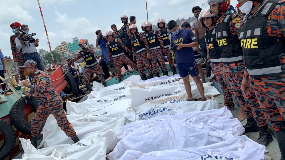 At least 23 die in Bangladesh ferry accident: Officials thumbnail