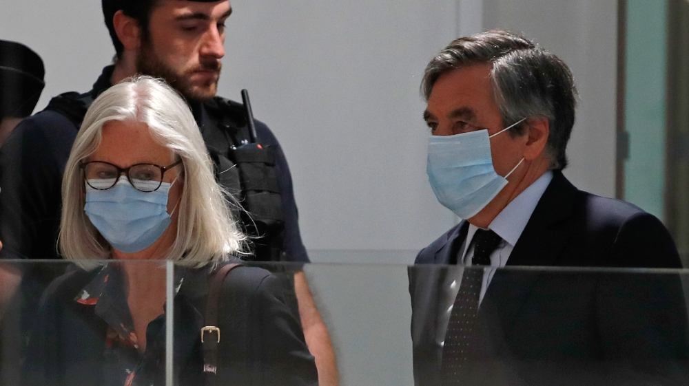 France sentences ex-PM Fillon, his wife to prison in fraud trial thumbnail