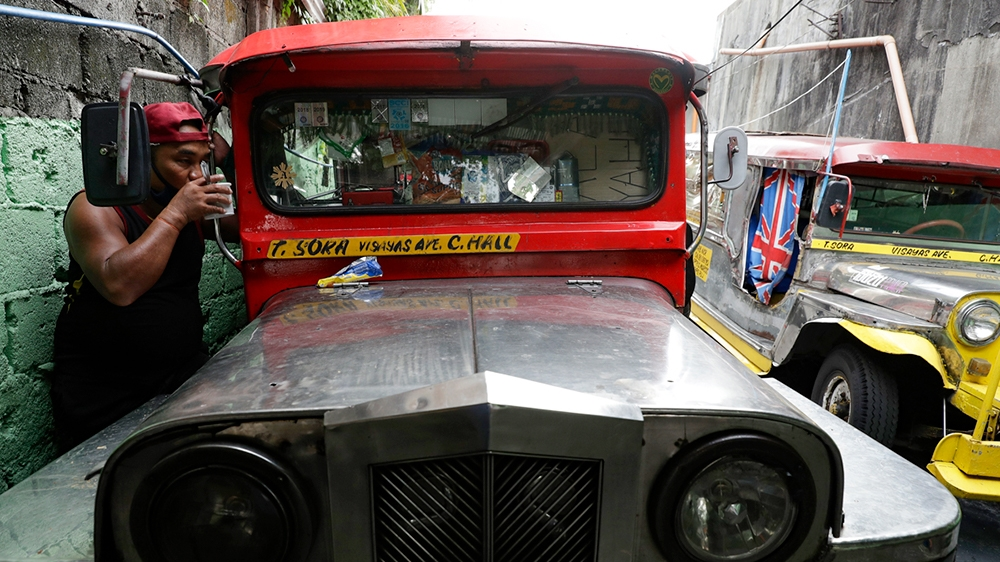 In Pictures: Philippines' iconic jeepneys pushed off the highway thumbnail