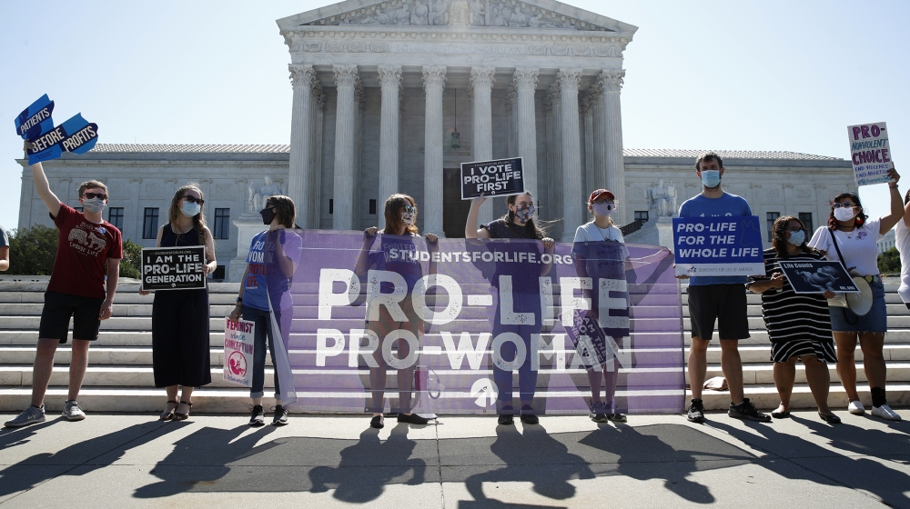 US Supreme Court rules to uphold abortion rights thumbnail