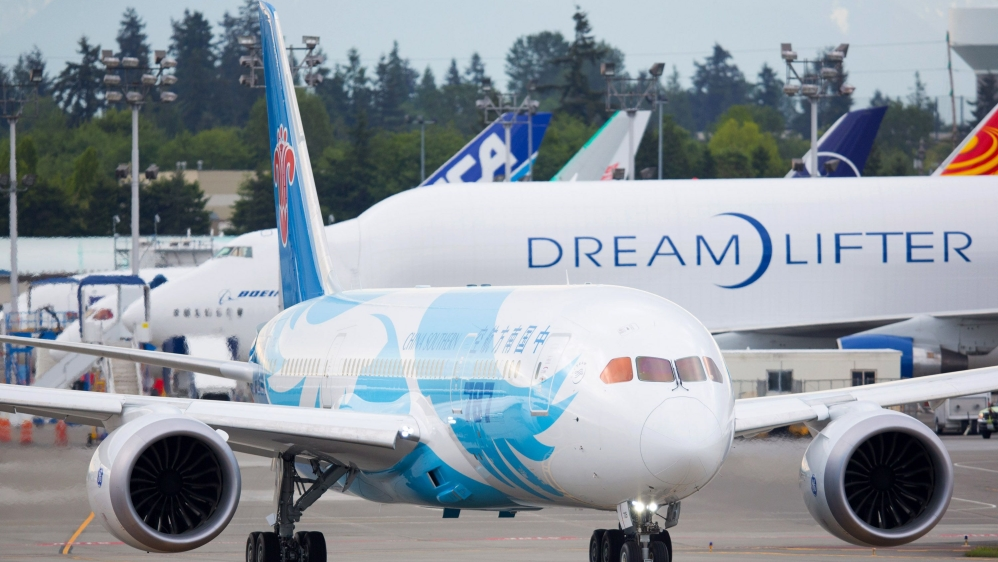 China Southern's New Boeing 787 Dreamliner