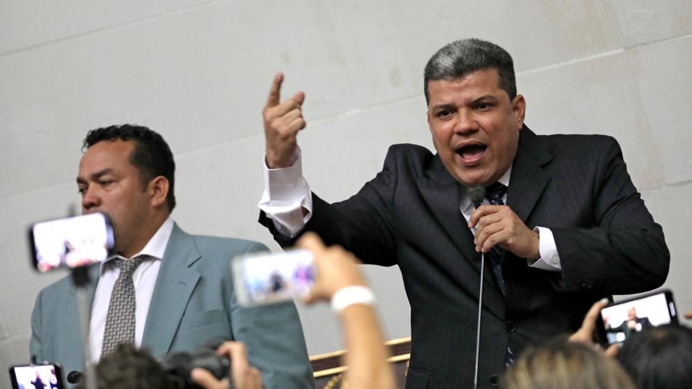 Venezuela's Congress chooses leadership in Caracas