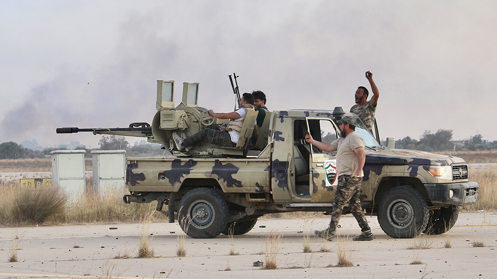 Libya's GNA says it regained full control of the capital, Tripoli thumbnail
