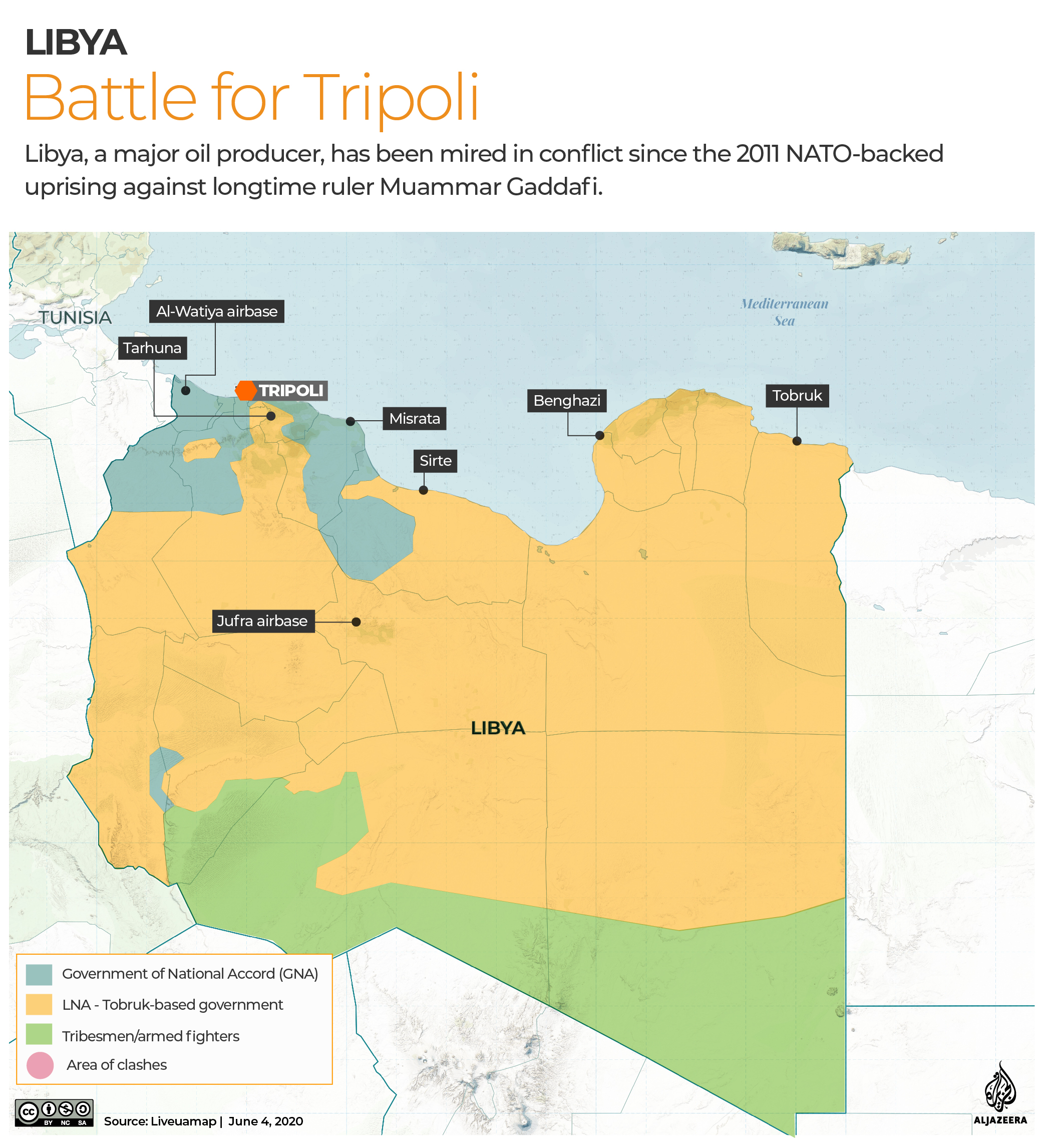 INTERACTIVE: Libya Control map - June 4, 2020