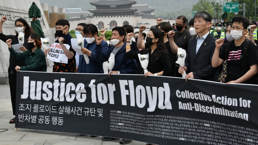 South Korea Floyd