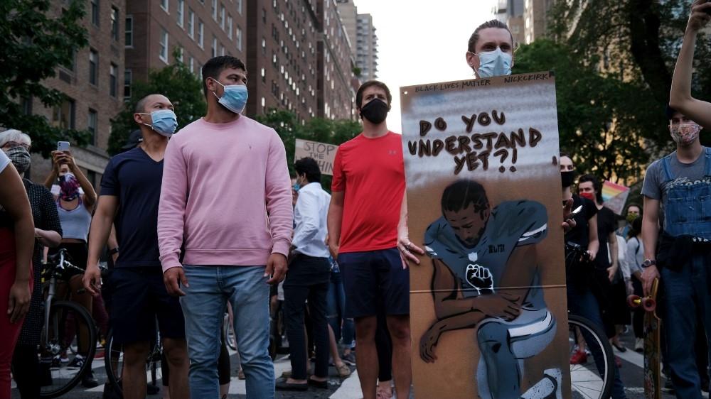 US protest Kaepernick