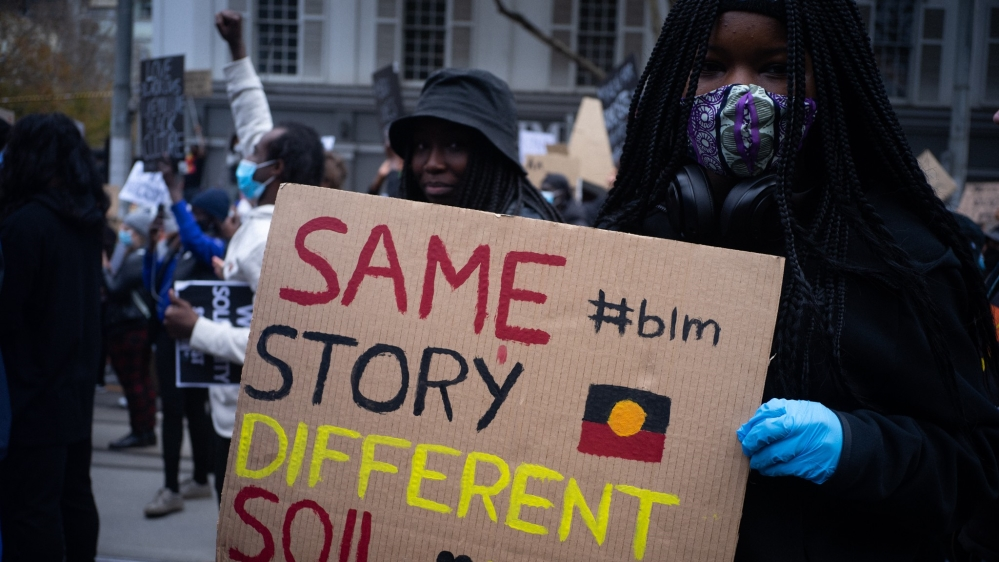 australia black lives matter