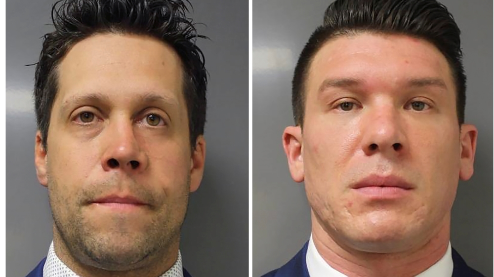 Two Buffalo police officers charged for shoving elderly protester