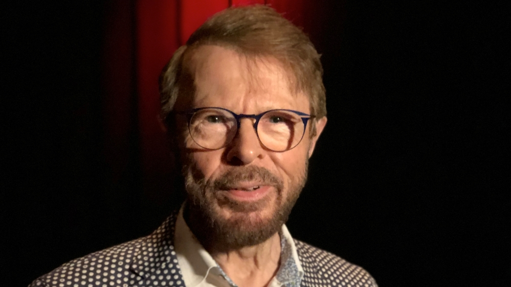 Musician Bjorn Ulvaeus of Swedish pop group ABBA poses for a picture in Stockholm