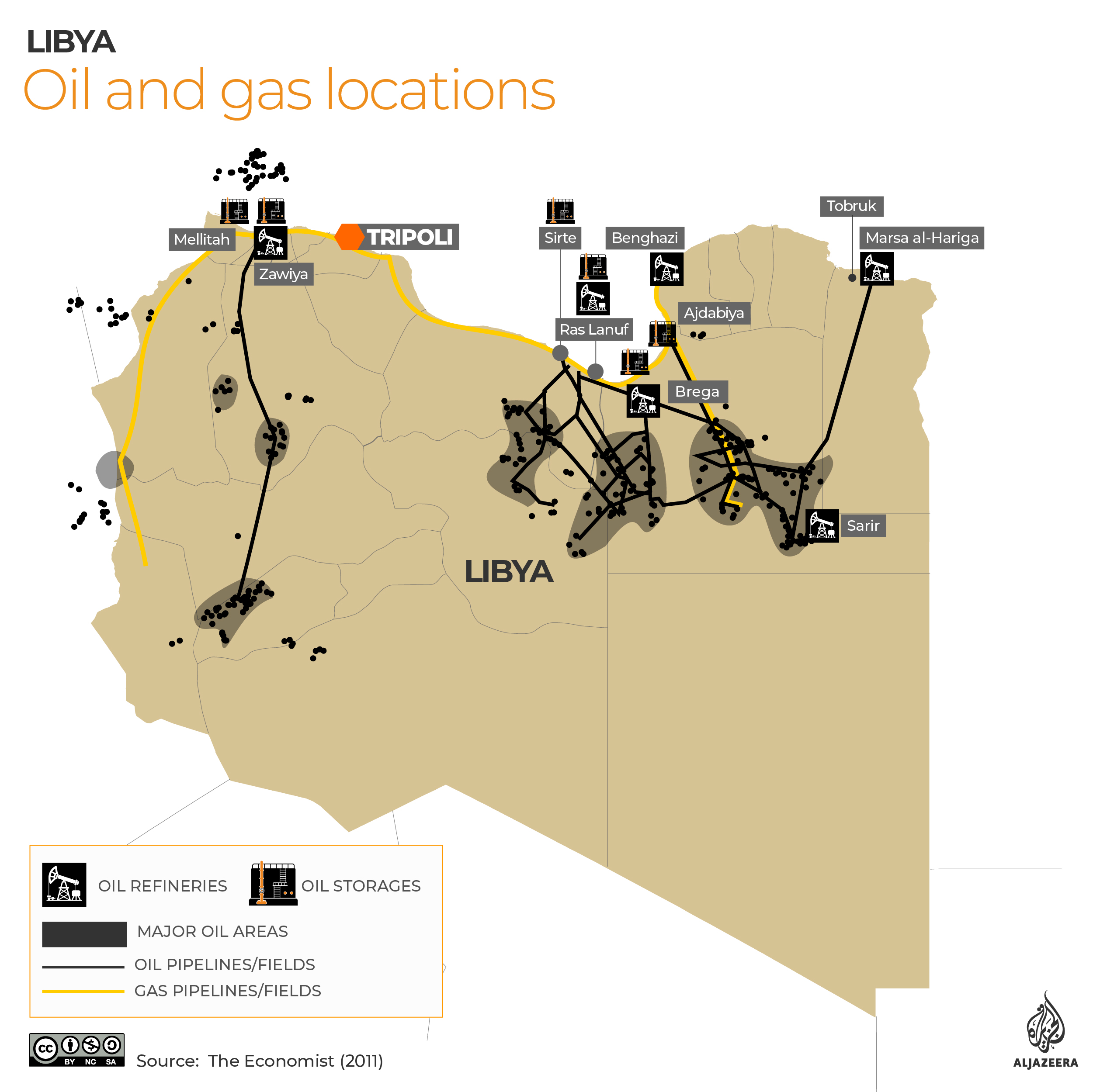 INTERACTIVE: Libya oil and gas - June 9, 2020