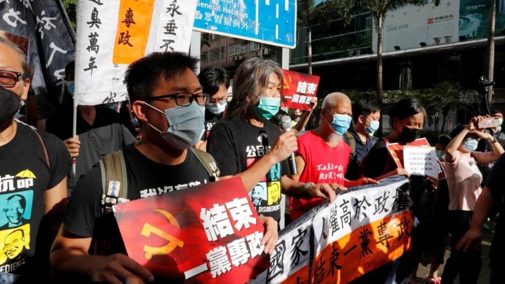 Democracy protesters - Hong Kong