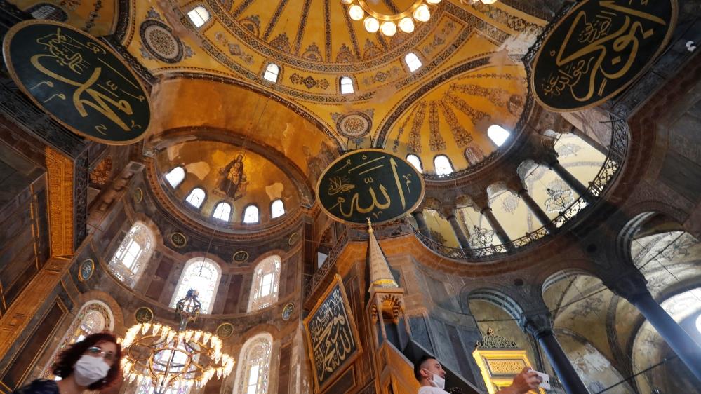 Turkey turning Hagia Sophia back into mosque divides social media – Al Jazeera English