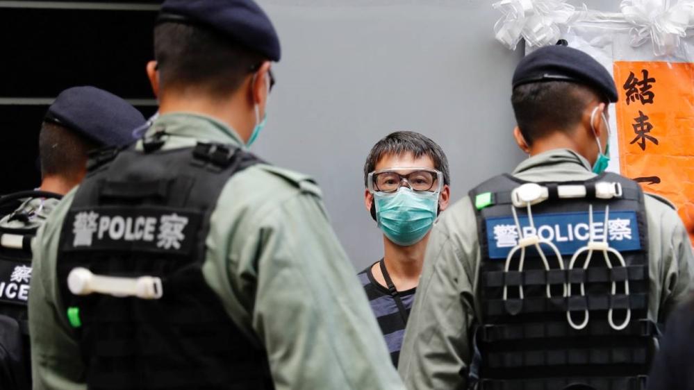 Protesters - Hong Kong