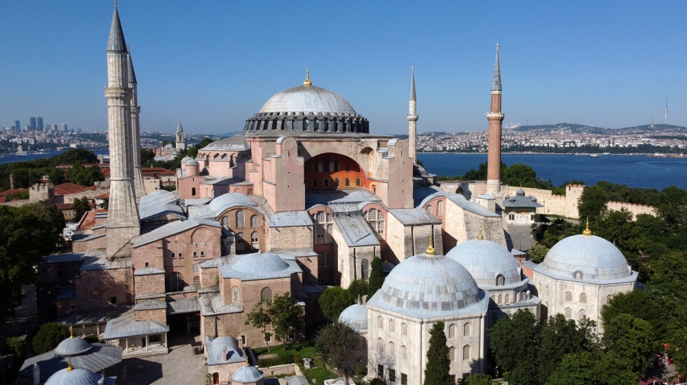 Turkey's Hagia Sophia and the battle to reconvert it to a mosque thumbnail