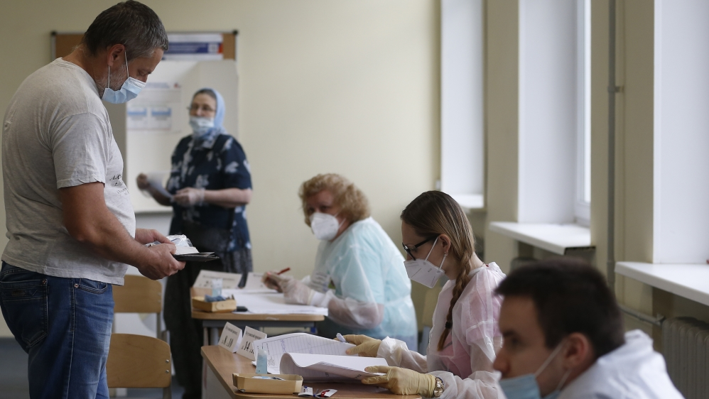 Russia holds main voting day on constitutional changes