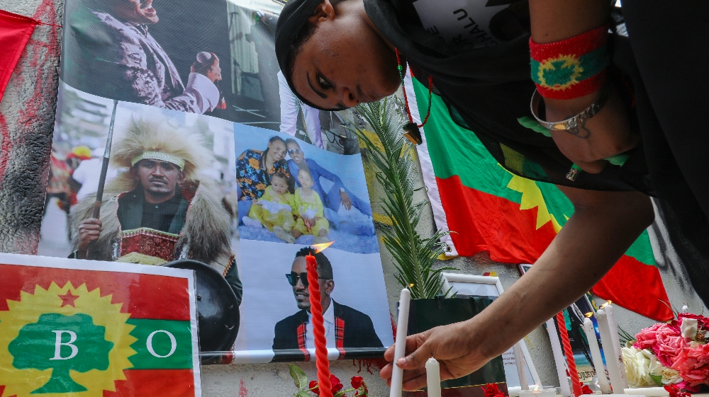 Ethiopia arrests suspects over Haacaaluu Hundeessaa killing thumbnail