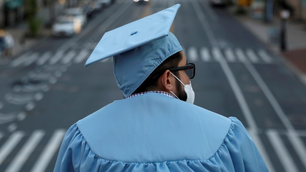 A graduating Masters student from the Columbia University, USA