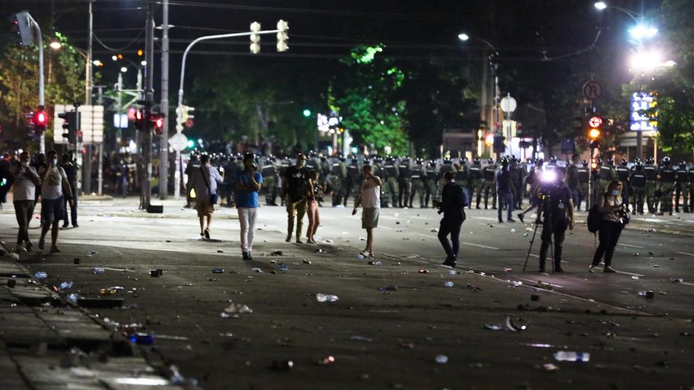 Serbia coronavirus protests: Four key questions answered - Al Jazeera English