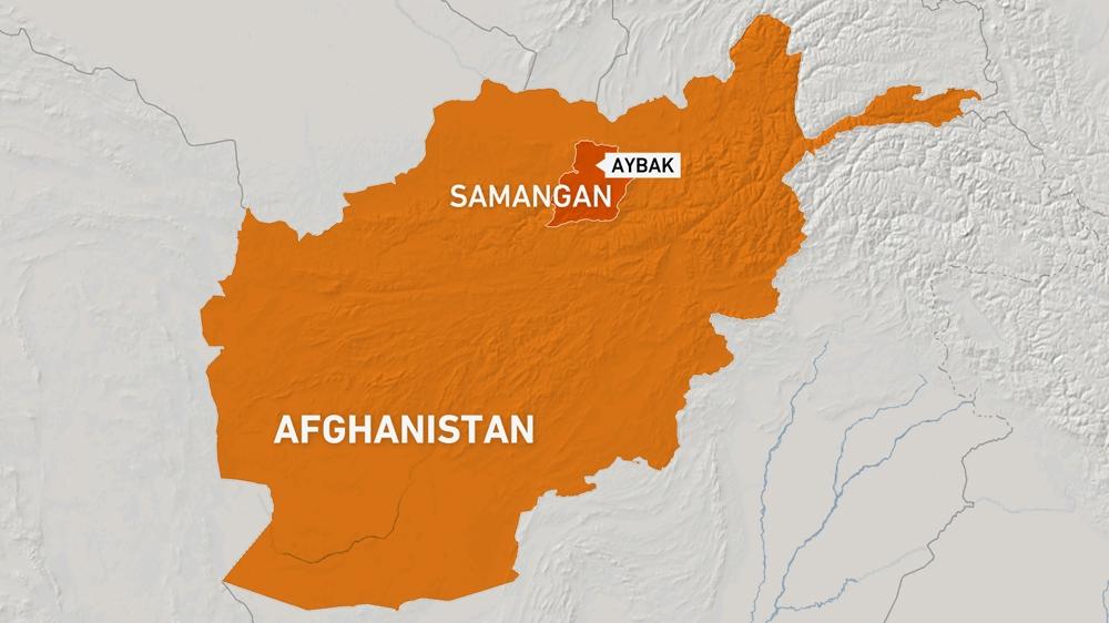 Afghanistan Samangan map