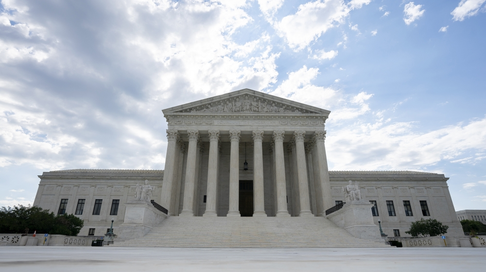 The U.S. Supreme Court is seen on June 30, 2020 in Washington, DC. The court is expected to release a ruling later this morning determining whether President Trump can block the release of his financi