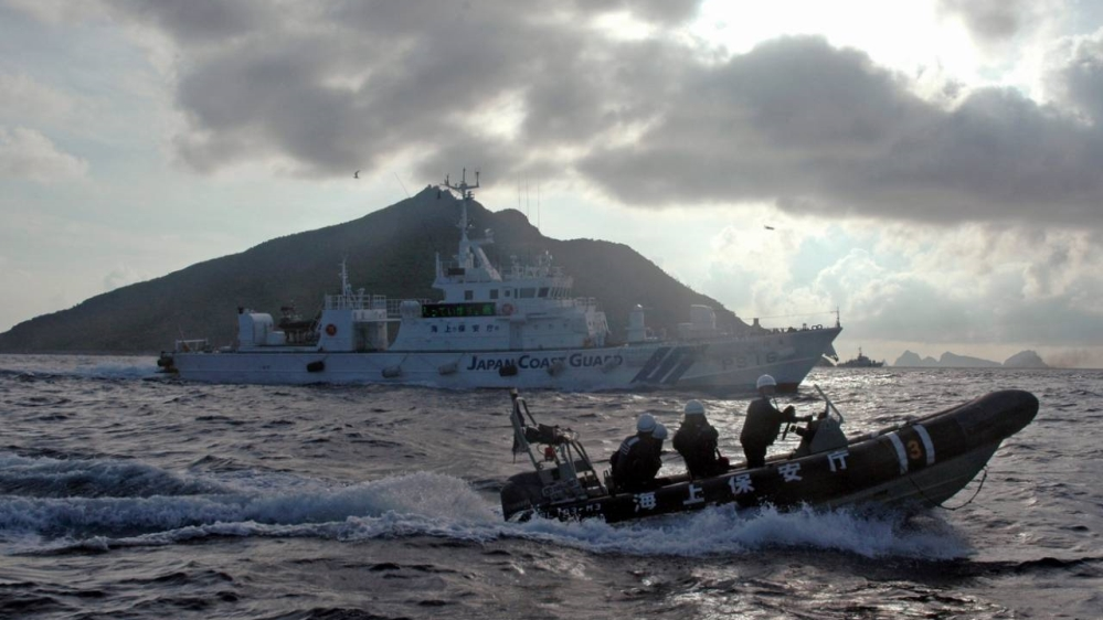 Japan accuses China of pushing territorial claims during pandemic