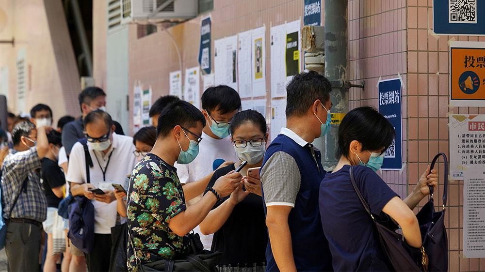 Hong Kong voting