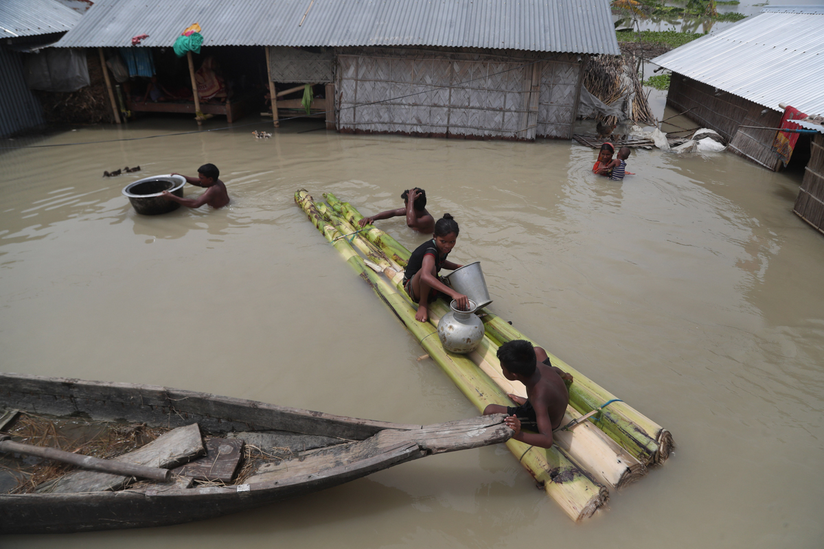 5 more die in Assam flood-related incidents; 40 lakh affected
