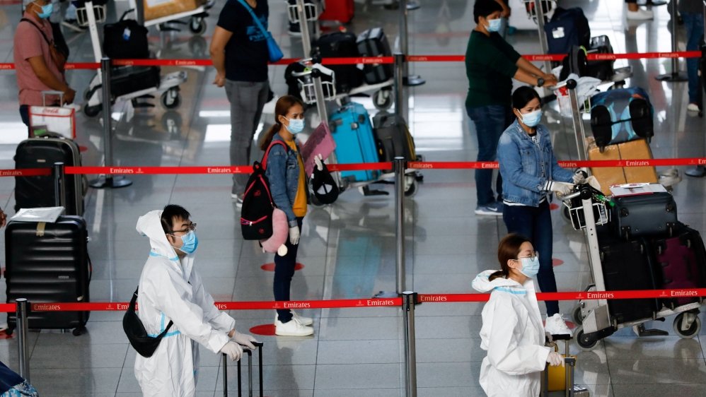 FILE PHOTO: Ninoy Aquino International Airport amid the coronavirus outbreak