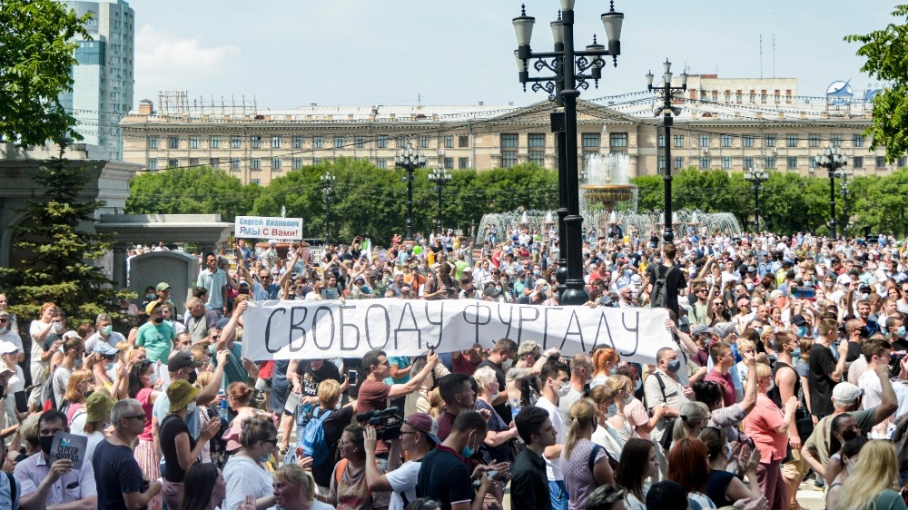 Tens of thousands stage anti-Kremlin protests