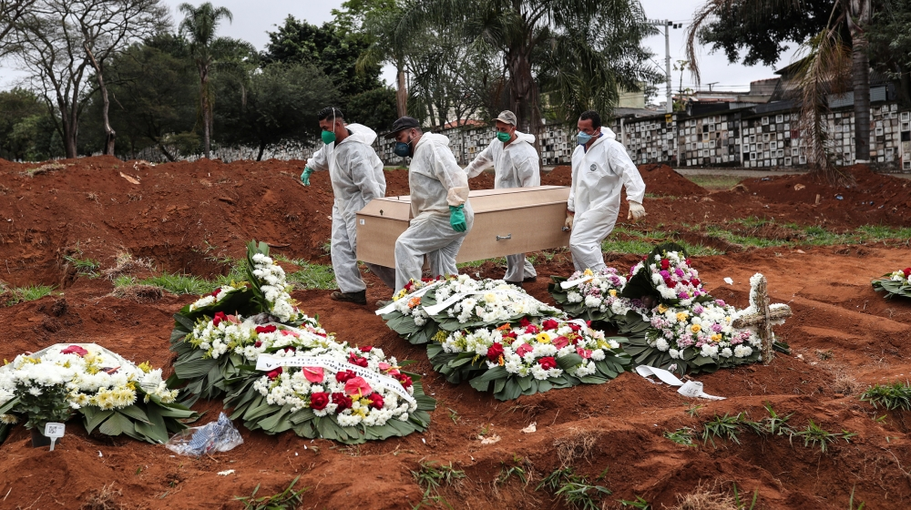 Brazil coronavirus death toll passes 60,000: Live updates thumbnail
