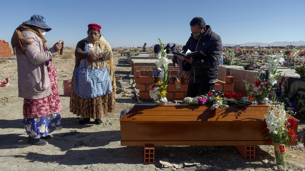Bolivia cemetery