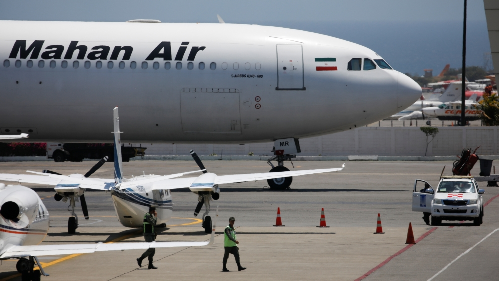 Iran asks UN to hold US accountable for plane interception thumbnail