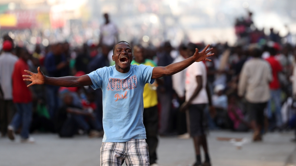 Zimbabwe businesses closed, streets deserted on day of protests