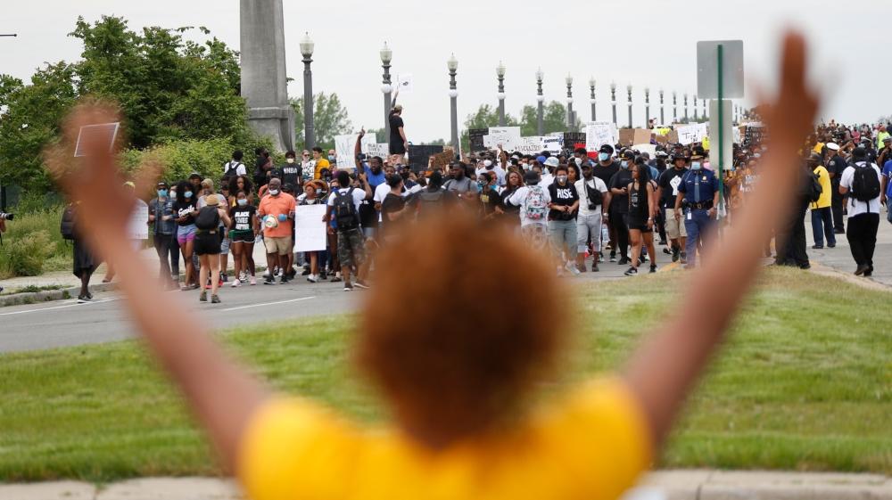 Michigan black lives matter