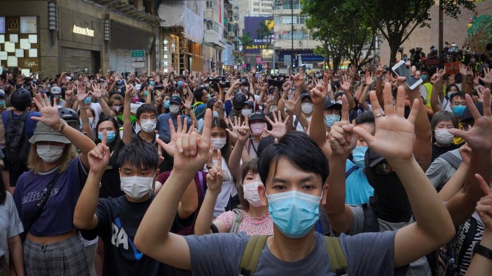 China warns US after Congress passes sanctions invoice on Hong Kong - Aljazeera.com thumbnail