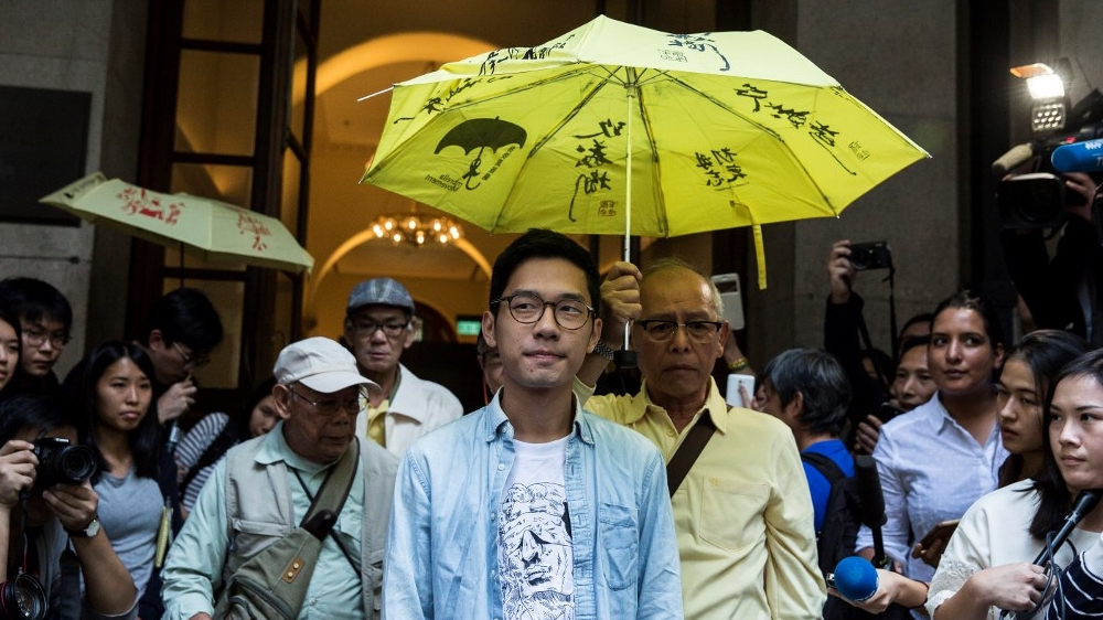 FILES - HONG KONG - CHINA - POLITICS - DEMOCRACY