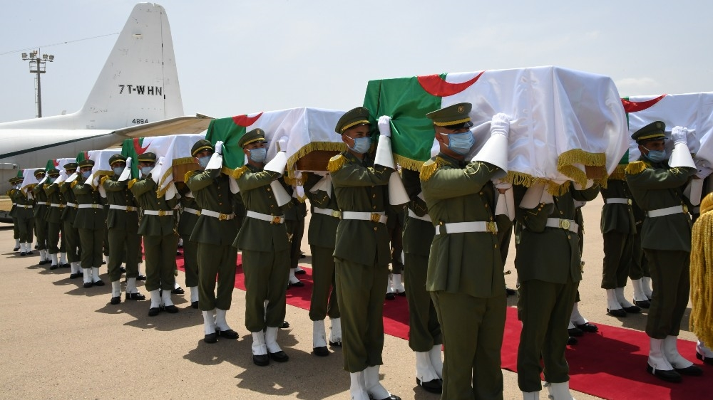 France returns remains of Algerian anti-colonial fighters