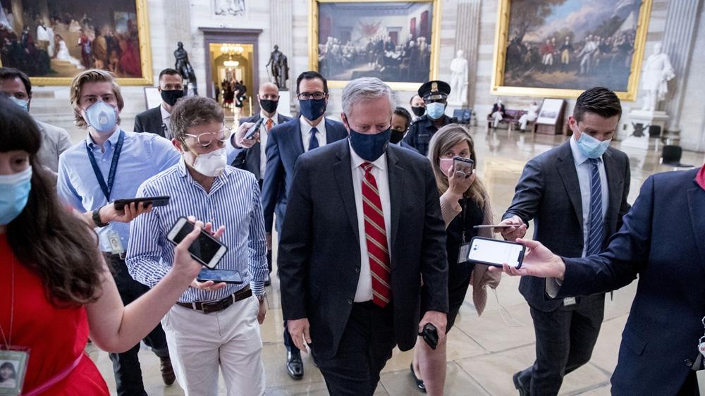 Political talks stall in US on next round of coronavirus spending - Al Jazeera English