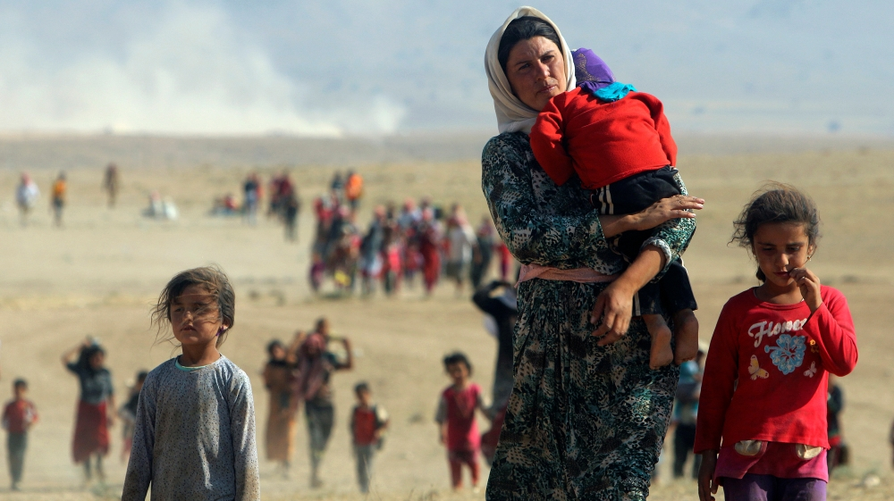 Yazidi children 'left alone' to deal with ISIL captivity trauma thumbnail