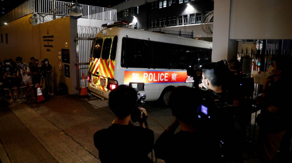 Hong Kong students held in first arrests under new security law thumbnail