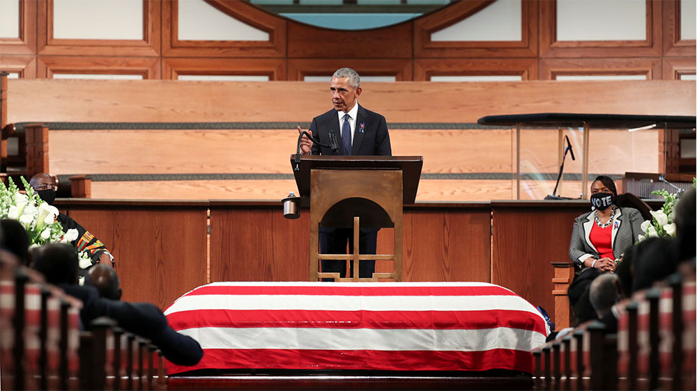 Obama eulogy for John Lewis