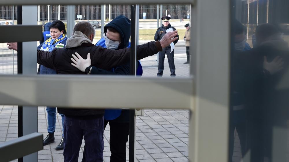 Kremlin demands release of Russians held in Belarus